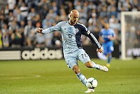 Aurelien Collin (78) defender Sporting KC in action..Sporting Kansas City defeated Montreal Impact 2-0 at Sporting Park, Kansas City, Kansas.