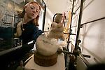 Paul Savage lab.Sarah Salt-Sr. Bio Chem.Thomas Orsak-Sr. Bio Chem.2/2/05.Photography by Mark A. Philbrick