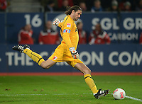 FUSSBALL   1. BUNDESLIGA  SAISON 2012/2013   9. Spieltag FC Augsburg - Hamburger SV           26.10.2012 Torwart Simon Jentzsch (FC Augsburg)