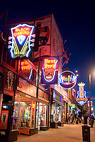 Memphis, Tennessee, February 2009. Beale Street is known for its famous Blues Clubs with daily live performances. The city of Memphis is the place where Blues and Soul Music grew famous. Photo by Frits Meyst/Adventure4ever.com