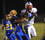 Oxford High's Ethan Holmes (12) vs. Senatobia in high school football in Oxford, Miss. on Friday, September 9, 2011. Oxford won 40-20.