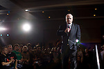 "Senator John McCain, Republican presidential candidate, speeks at a  campaign rally push for ""Super Tuesday"" votes, Birmingham, Alabama, February 2, 2008."