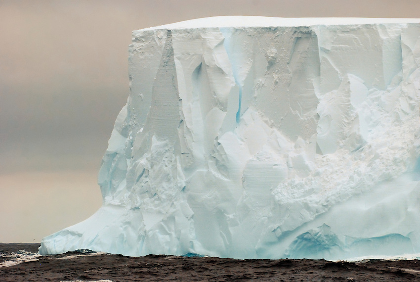 Slice of Pie - Piece of Cake - An iceberg in the Southern Ociean