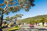 Streets of Greymouth, West Coast, Buller Region, New Zealand