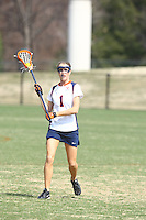 University of Virginia women's lacrosse player Yeardley  Love (1) plays with the team during the 2010 season at Klockner Stadium in Charlottesville, VA.  George Huguely, 22, a fourth-year student from Chevy Chase, Md., has been charged with first-degree murder in the death of UVa women's lacrosse player Yeardley Love, 22, a fourth-year student from Cockeysville, Md., that took place early Monday morning May 3, 2010 in Charlottesville, Va. Photo/Andrew Shurtleff