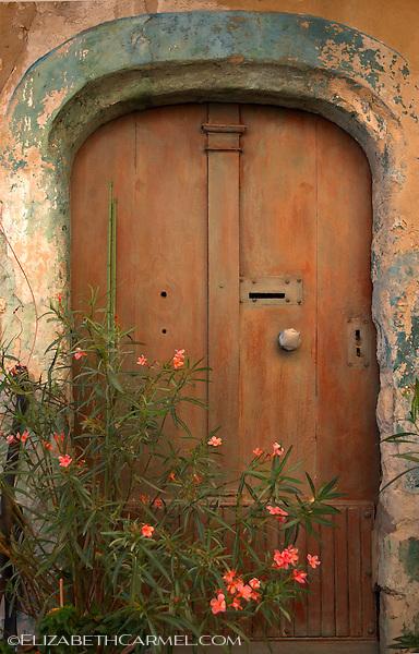 Door with Flowers, Provence