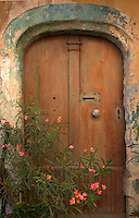 Door with Flowers, Provence