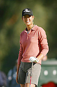 March 26, 2004; Rancho Mirage, CA, USA;  14 year old amateur Michelle Wie hangs out at the 2nd hole during the 2nd round of the LPGA Kraft Nabisco golf tournament held at Mission Hills Country Club.  Wie finished the day  with an even par 72.<br />Mandatory Credit: Photo by Darrell Miho <br />&copy; Copyright Darrell Miho