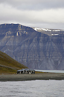 Remote hunting cabin on Spitzbergen 900km from the North Pole