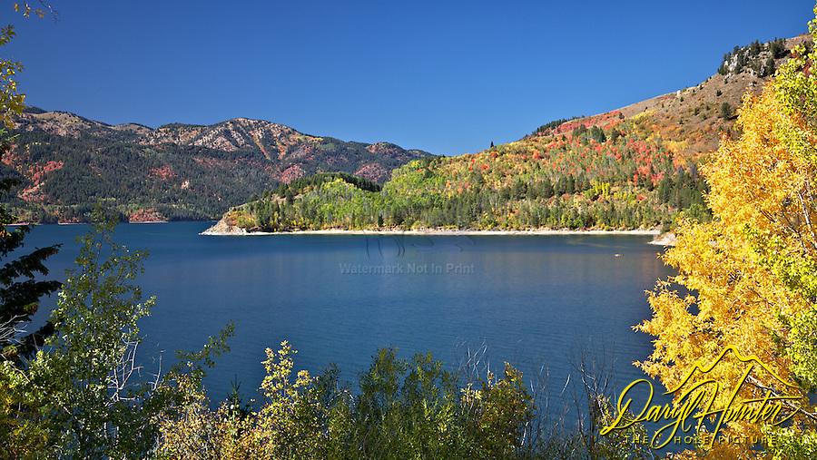 Palisades Reservoir, Fall Colors, Swan Valley, Idaho