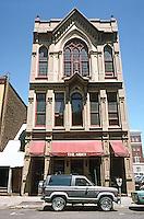 Portland: Bishop's House, 1879, 219 SW Stark. Restoration in 1965--William Roberts. Photo '86.