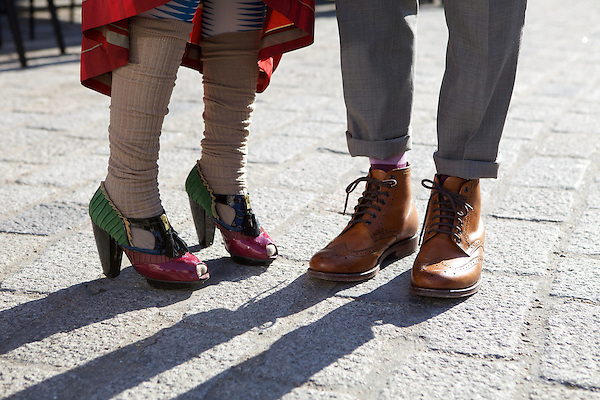 Shoes at London Fashion Week