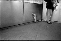 Mémed est mort ici, gare de nanterre-Ville. 1997.