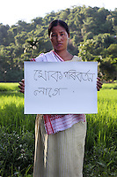 Jimika Shangma - 29 yrs.Assam.Christian.Primary school teacher. Mother of one child..Assamese - 'I want change'