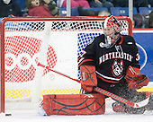 Chris Rawlings (Northeastern - 37) - The visiting Northeastern University Huskies defeated the University of Massachusetts-Lowell River Hawks 3-2 with 14 seconds remaining in overtime on Friday, February 11, 2011, at Tsongas Arena in Lowelll, Massachusetts.