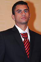 DC United midfielder Junior Carreiro, at the 2011 Season Kick off Luncheon, at the Marriott Hotel in Washington DC, Wednesday March 16 2011.