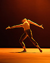 Sadler's Wells presents Natalia Osipova in a triple bill of specially commissioned dance works, by her, from choreographers Sidi Larbi Cherkaoui, Russell Maliphant and Arthur Pita.  The piece shown is:  Qutb, by  Sidi Larbi Cherkaoui. The picture shows:  Natalia Osipova.