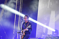 LYTHAM, ENGLAND - AUGUST 4: Noel Gallagher of 'Noel Gallagher's High Flying Birds' performing at Lytham Festival, Lytham on August 4, 2016 in London, England.<br /> CAP/MAR<br /> &copy;MAR/Capital Pictures /MediaPunch ***NORTH AND SOUTH AMERICAS ONLY***
