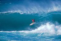 Layne Beachley (AUS) 1st Roxy Pro Beach Hawaii 1999. Photo:  joliphotos.com