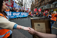 "04.03.2017 - ""It's Our NHS - National Demonstration To Defend The NHS"" - #OurNHS"