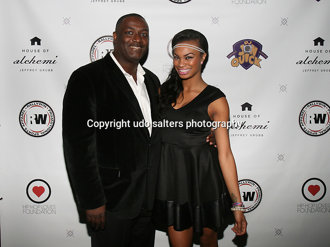 DJ Jon Quick and Honoree Krystal Garner at DJ Jon Quick's 5th Annual Beauty and the Beat: Heroines of Excellence Awards Honoring AMBRE ANDERSON, DR. MEENA SINGH,<br /> JESENIA COLLAZO, SHANELLE GABRIEL, <br /> KRYSTAL GARNER, RICHELLE CAREY,<br /> DANA WHITFIELD, SHAWN OUTLER,<br /> TAMEKIA FLOWERS Held at Suite 36, NY