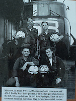 STAFF PHOTO ANTHONY REYES &bull; @NWATONYR<br /> Neil Sparks and his helicopter crew.<br /> Sparks received the Navy Cross for a rescue mission he flew in Vietnam.
