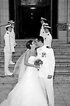 U.S. Naval Academy Wedding in Annapolis, Maryland.  Photography by Professional Image Photography & KRR Photography.