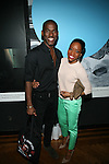 """Martha Graham Company Dancer and Dance Magazine's """"Top 25 Dancers to Watch"""" Lloyd Knight and Dancer Tamisha Guy Attends Flatt Book 6 Launch Party & Salute to Flattprize & National Arts Club Residency Recipient Fabrizio Arrieta Held at The National Arts Club, NY"""