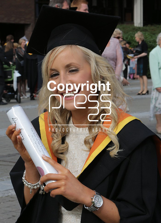 29/8/2013  Attending the University of Limerick conferrings on Thursday afternoon was Hilary Barrett, Castletroy who was conferred with a BEng in Biomedical Engineering with First Class Honours. Picture Liam Burke/Press 22