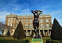 Kykuit, Rockefeller Estate, Sculpture of Female by Maillol, Sleepy Hollow, New York, Hudson River Valley