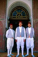 Porters, Hotel La Mamounia, Marrakech, Morocco