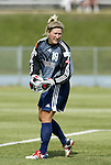 19 June 2004: Siri Mullinix before the game. The Washington Freedom tied the Boston Breakers 3-3 at the National Sports Center in Blaine, MN in Womens United Soccer Association soccer game featuring guest players from other teams.