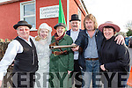 Mike Flynn, Emer Long, Mary Sheehan, Michael O'Shea, Willie Hannafin and Teresa Long who participated in the Castlemaine 1916 celebrations on Sunday