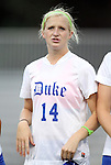 15 September 2011: Duke's Erin Koballa. The Duke University Blue Devils defeated the College of Charleston Cougars 3-0 at Koskinen Stadium in Durham, North Carolina in an NCAA Division I Women's Soccer game.