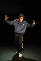 London, UK. 05.11.2013. Jonzi D — Lyrikal Fearta: The Letter & Broken Lineage, Lilian Baylis Studio, Sadler's Wells. Picture shows Jonzi D in an extract from Broken Lineage. Photograph © Jane Hobson.