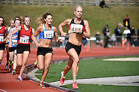 Camille Buscomb in action during the Athletics - NZ Track and Field Championships at Newtown Park, Newtown, New Zealand on Friday 6 March 2015. <br /> Photo by Masanori Udagawa. <br /> www.photowellington.photoshelter.com.