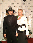 Tim McGraw and Faith Hill..at the 38th Annual CMA Awards at The Grand Ole Opry in Nashville, November 9th 2004. Photos by Chris Walter/Photofeatures.