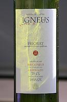 FA 206, 2004. Mas Igneus, Gratallops, Priorato, Catalonia, Spain.