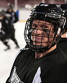 Alex Cromwell (PC - 28) - The Providence College Friars practiced at Fenway on Friday, January 6, 2017, in Boston, Massachusetts.
