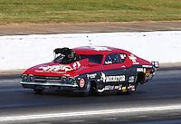 May 13, 2016; Commerce, GA, USA; NHRA pro mod driver Doug Winters during qualifying for the Southern Nationals at Atlanta Dragway. Mandatory Credit: Mark J. Rebilas-USA TODAY Sports