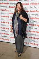 Nicole Barber Lane arriving for the Inside Soap Awards Launch Party at Rosso Restaurant, Manchester. 09/07/2012 Picture by: Steve Vas / Featureflash
