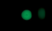 DUAL MODE  INTERFEROMETER<br /> Michelson Fringe Pattern- 546nm Green Light