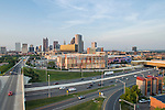 Greater Columbus Convention Center Goodale St Parking Garage Aerial Photography | NBBJ