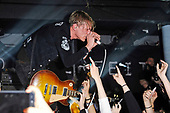 COUNTERFEIT - vocalist and guitarist Jamie Campbell Bower - performing live at the Underworld in Camden London UK - 26 Apr 2017.  Photo credit: Zaine Lewis/IconicPix