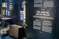 The new Narvik War Museum, officially opened on Aug 22, 2016. The museum focus on the German attack on Narvik April 9. 1940, and the subsequent war. <br /> <br /> The &lsquo;Nordland Red Cross War Memorial Museum&rsquo; in Narvik was established by Nordland Red Cross in 1964 and has stayed open till April 2016. From 2014 The Narvik Centre of War and Peace foundation has been running the museum. The museum has received numerous artifacts from benefactors in many countries. The historic collection includes a wide range of items, ranging from a Hotchkiss light tank, 75 mm field canons, weapons, uniforms to stamps. The museum also has an extensive library and archive.