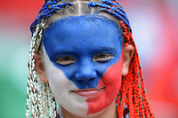 FUSSBALL  EUROPAMEISTERSCHAFT 2012   VORRUNDE Griechenland - Tschechien         12.06.2012 Fans der Tschechische Republik