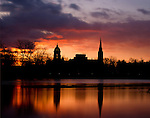4.1.13 Lake Sunrise 3.JPG by Matt Cashore/University of Notre Dame