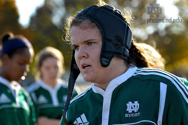 Women's Rugby..For Notre Dame Magazine..Photo by Matt Cashore/University of Notre Dame