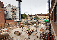 July 2011: Pembroke College Brewer Street Project
