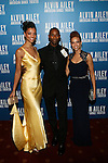 Alvin Alley American Dance Theater Dancers Fana Tesfagiorgis,Samuel Roberts and Belen Pereyra  Attend Alvin Ailey American Dance Theater Opening Night Gala Benefit Held at New York City Center, NY